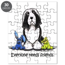 Beardie Needs Friends Puzzle