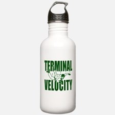 Terminal Velocity Skydiving Water Bottle