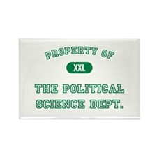 Political Science Rectangle Magnet