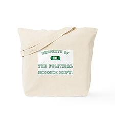 Political Science Tote Bag