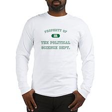 Political Science Long Sleeve T-Shirt