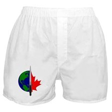 Joint Task Force 2 logo - Silver Boxer Shorts