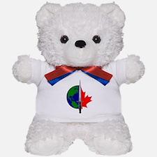 Joint Task Force 2 logo - Silver Teddy Bear