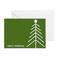 Simple Christmas Tree Greeting Card