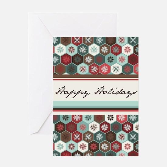 Snowflake Holiday Greeting Card