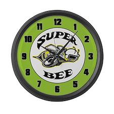 Super Beeee! Large Wall Clock