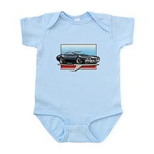 Black WT 68 Cutlass Infant Bodysuit