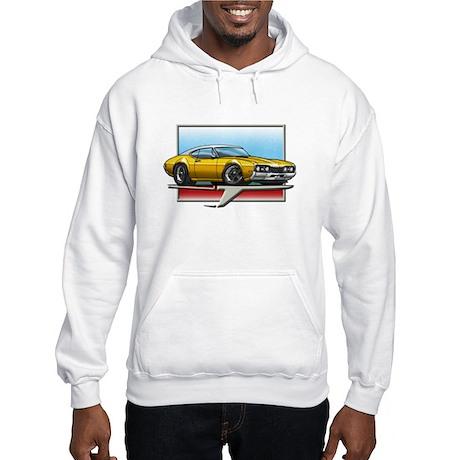 Gold WT 68 Cutlass Hooded Sweatshirt