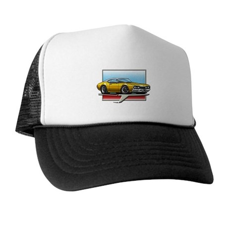 Gold WT 68 Cutlass Trucker Hat