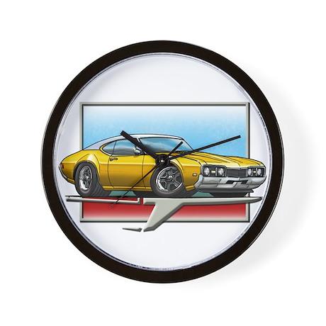 Gold WT 68 Cutlass Wall Clock
