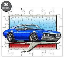 Blue WT 68 Cutlass Puzzle