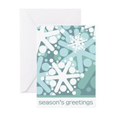 Cool Snow Holiday Greeting Card