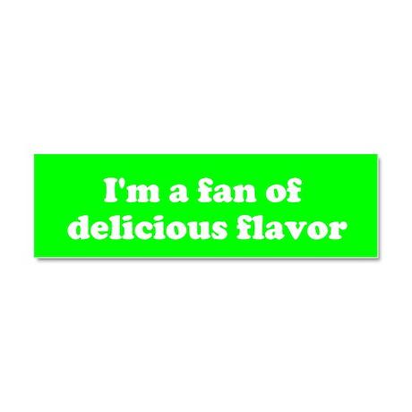Psych Fan of Delicious Flavor Car Magnet
