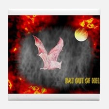 Jmcks Bat Out Of Hell Tile Coaster