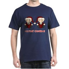 Twin Boys First Christmas T-Shirt