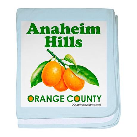 Anaheim Hills, Orange County baby blanket