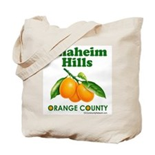 Anaheim Hills, Orange County Tote Bag