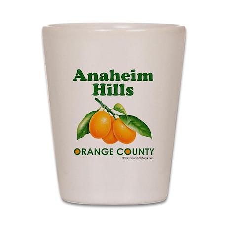 Anaheim Hills, Orange County Shot Glass