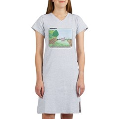 Poodles in the Wild Women's Nightshirt
