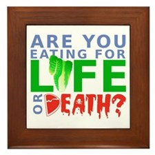 Life or Death Framed Tile