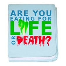 Life or Death baby blanket