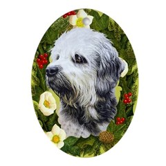 Dandie Dinmont Ornament (Oval)
