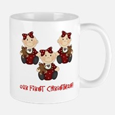 Triplet Girls First Christmas Mug
