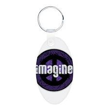 Imagine Peace Vintage Keychains
