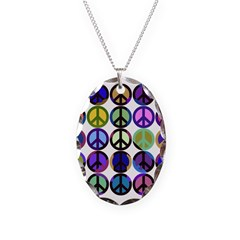 Mod Vintage Peace Necklace