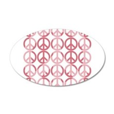 Peace on Earth 22x14 Oval Wall Peel
