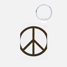 Cool Vintage Peace Sign Keychains