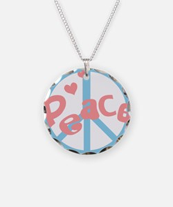 Cool Retro Peace Sign Necklace