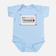 #1 Trained Spectator Infant Bodysuit