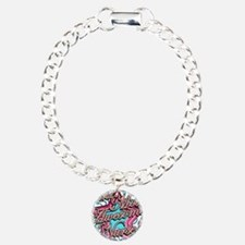 Worlds Most Awesome Nurse Charm Bracelet, One Char