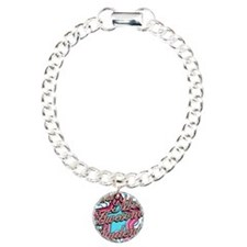 Worlds Most Awesome Student Charm Bracelet, One Ch