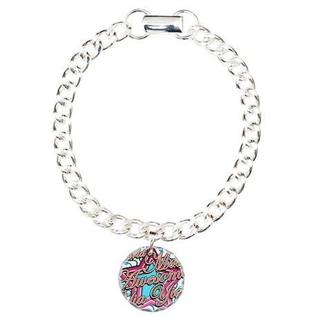 Worlds Best Yia Yia Charm Bracelet, One Charm