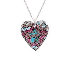 Worlds Best Yia Yia Necklace Heart Charm