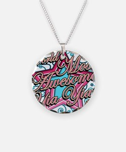 Worlds Best Yia Yia Necklace