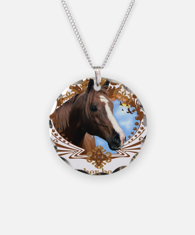 I'd Rather Be Riding, Horse Necklace