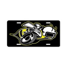 Super Bee Basic Aluminum License Plate