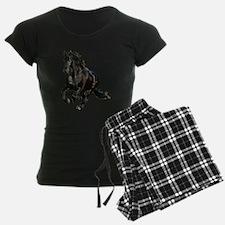 Black Stallion Horse Pajamas