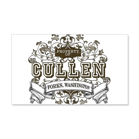 Cullen - Forks Washington 22x14 Wall Peel