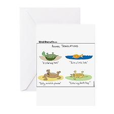 Animal Translations Greeting Cards (Pk of 20)