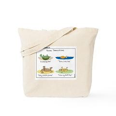 Animal Translations Tote Bag