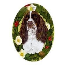 English Springer Spaniel Ornament (Oval)