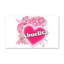 Abuelita Heart Art Car Magnet 20 x 12