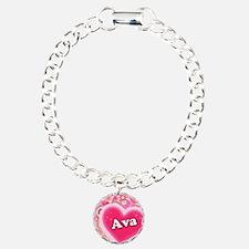 Ava Heart Art Bracelet