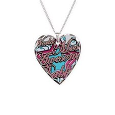 Worlds Best Babka Necklace Heart Charm