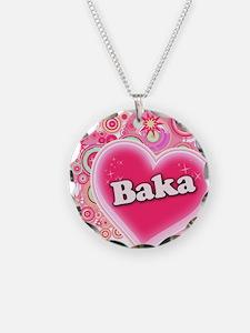 Baka Heart Art Necklace