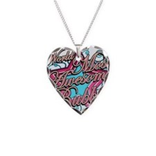 Worlds Best Bubbe Necklace Heart Charm
